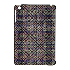 Multicolored Ethnic Check Seamless Pattern Apple Ipad Mini Hardshell Case (compatible With Smart Cover) by dflcprints