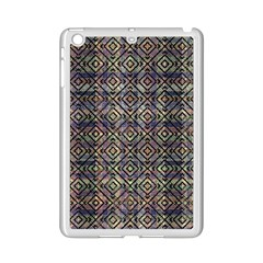 Multicolored Ethnic Check Seamless Pattern Ipad Mini 2 Enamel Coated Cases by dflcprints