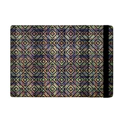 Multicolored Ethnic Check Seamless Pattern Ipad Mini 2 Flip Cases by dflcprints