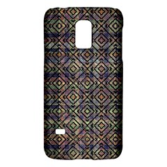 Multicolored Ethnic Check Seamless Pattern Galaxy S5 Mini by dflcprints
