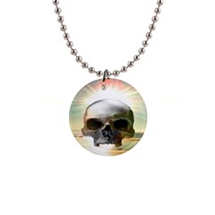 Skull Sunset Button Necklaces by icarusismartdesigns
