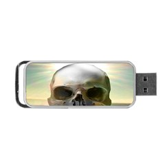 Skull Sunset Portable USB Flash (Two Sides) by icarusismartdesigns