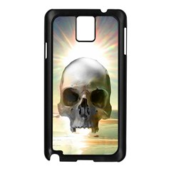 Skull Sunset Samsung Galaxy Note 3 N9005 Case (black) by icarusismartdesigns