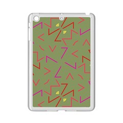 Angles Apple iPad Mini 2 Case (White) by LalyLauraFLM