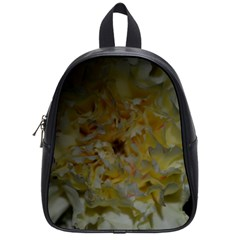 Yellow Flower School Bags (small)  by timelessartoncanvas