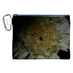 Yellow Flower Canvas Cosmetic Bag (xxl)  by timelessartoncanvas