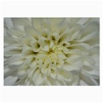 White Flowers Large Glasses Cloth