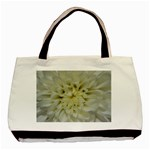 White Flowers Basic Tote Bag (Two Sides)