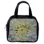 White Flowers Classic Handbags (One Side)