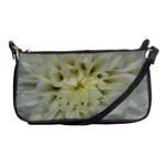 White Flowers Shoulder Clutch Bags