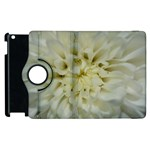 White Flowers Apple iPad 2 Flip 360 Case