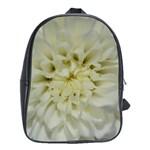White Flowers School Bags (XL)