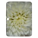 White Flowers Samsung Galaxy Tab 3 (10.1 ) P5200 Hardshell Case