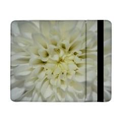 White Flowers Samsung Galaxy Tab Pro 8 4  Flip Case by timelessartoncanvas