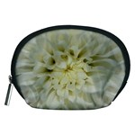 White Flowers Accessory Pouches (Medium)