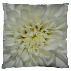 White Flowers Standard Flano Cushion Cases (two Sides)  by timelessartoncanvas