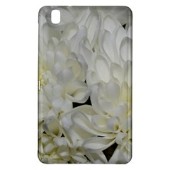 White Flowers 2 Samsung Galaxy Tab Pro 8 4 Hardshell Case by timelessartoncanvas