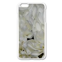 White Flowers 2 Apple Iphone 6 Plus/6s Plus Enamel White Case by timelessartoncanvas