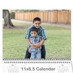 Calendar 2016_mummy - Wall Calendar 11  x 8.5  (12-Months)