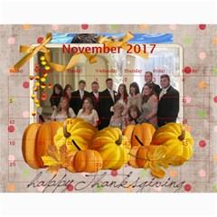 Jacki 2017 By Cheryl    Wall Calendar 11  X 8 5  (12 Months)   5jqg4fozkz1t   Www Artscow Com Nov 2017