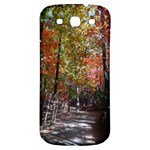Red pink leaves forest walk  - Samsung Galaxy S3 S III Classic Hardshell Back Case