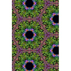 Repeated Geometric Circle Kaleidoscope 5 5  X 8 5  Notebooks by canvasngiftshop