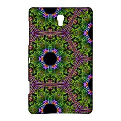 Repeated Geometric Circle Kaleidoscope Samsung Galaxy Tab S (8 4 ) Hardshell Case  by canvasngiftshop