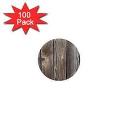 WOOD FENCE 1  Mini Magnets (100 pack)  by trendistuff