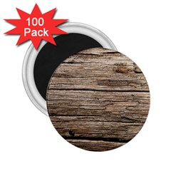 Weathered Wood 2 25  Magnets (100 Pack)  by trendistuff