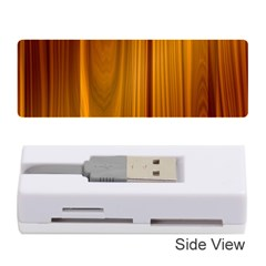 Shiny Striated Panel Memory Card Reader (stick)  by trendistuff