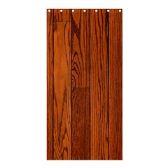 OAK PLANKS Shower Curtain 36  x 72  (Stall)  by trendistuff
