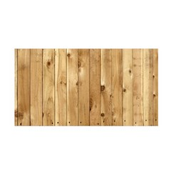 LIGHT WOOD FENCE Satin Wrap by trendistuff