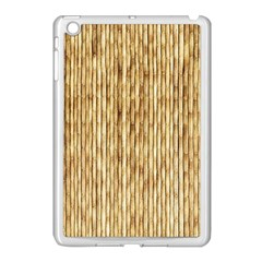 Light Beige Bamboo Apple Ipad Mini Case (white) by trendistuff