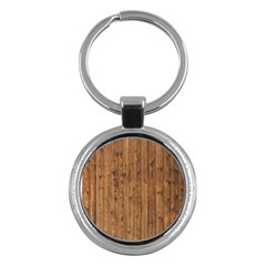 Knotty Wood Key Chains (round)  by trendistuff