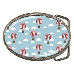 Hot Air Balloon Belt Buckles by Kathrinlegg