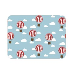 Hot Air Balloon Double Sided Flano Blanket (mini)  by Kathrinlegg