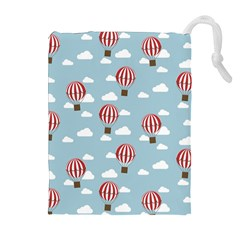 Hot Air Balloon Drawstring Pouches (extra Large) by Kathrinlegg