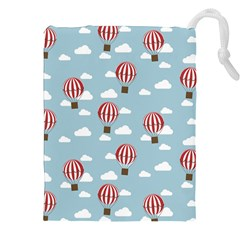Hot Air Balloon Drawstring Pouches (XXL) by Kathrinlegg