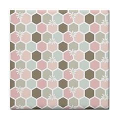 Spring Bee Tile Coasters by Kathrinlegg