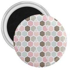 Spring Bee 3  Magnets by Kathrinlegg