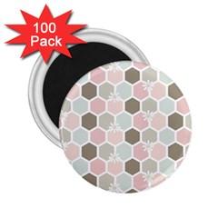 Spring Bee 2 25  Magnets (100 Pack)  by Kathrinlegg