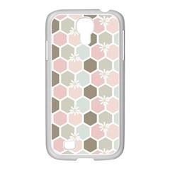Spring Bee Samsung Galaxy S4 I9500/ I9505 Case (white) by Kathrinlegg