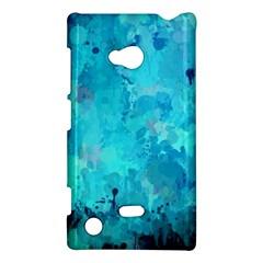Splashes Of Color, Aqua Nokia Lumia 720 by MoreColorsinLife