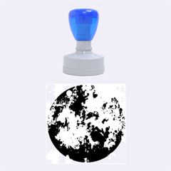 Splashes Of Color, Blue Rubber Round Stamps (medium) by MoreColorsinLife