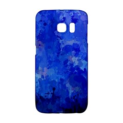 Splashes Of Color, Blue Galaxy S6 Edge by MoreColorsinLife