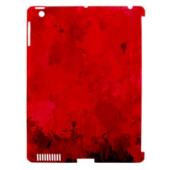Splashes Of Color, Deep Red Apple iPad 3/4 Hardshell Case (Compatible with Smart Cover) by MoreColorsinLife