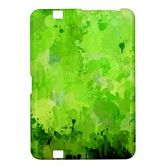 Splashes Of Color, Green Kindle Fire HD 8.9  by MoreColorsinLife