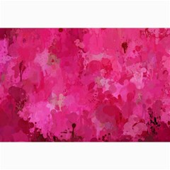 Splashes Of Color, Hot Pink Collage 12  x 18