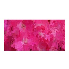 Splashes Of Color, Hot Pink Satin Wrap by MoreColorsinLife