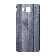 Grey Fence Samsung Galaxy Alpha Hardshell Back Case by trendistuff